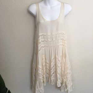 Free People intimately voile Lace trapeze dress